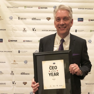 Utah Business - CEO of the Year 2019 3