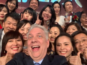 A selfie with some of the people I met in Taiwan in January 2020.