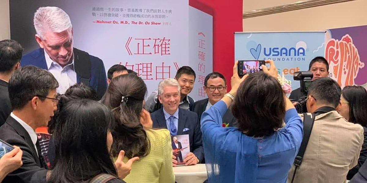 So grateful for the individuals who attended my book signing in Taiwan.