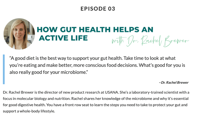 Episode 3: Let's Go! with USANA